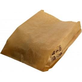 Bolsa de Papel Kraft 12+6x20cm (1000 Unidades)