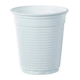 Vaso de Plastico PS Vending Blanco 166ml (100 Uds)
