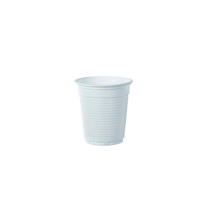 Vaso de Plastico PS Vending Blanco 166ml (100 Uds)