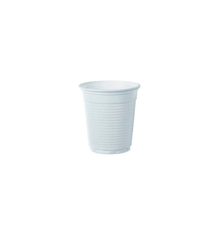 Vaso de Plastico PS Vending Blanco 166ml (3000 Uds)