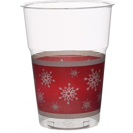 "Vaso ""Diamant"" PS Cristal Copo de Nieve 200ml (200 Uds)"