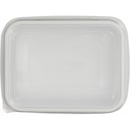 Tapa de Plastico Transp. para Bandeja 157x112x51mm (500 Uds)