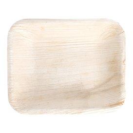 Bandeja Rectangular Hoja de Palma 16x12,5x3cm (25 Uds)