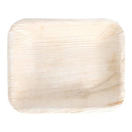 Bandeja Rectangular Hoja de Palma 16x12,5x3cm (200 Uds)