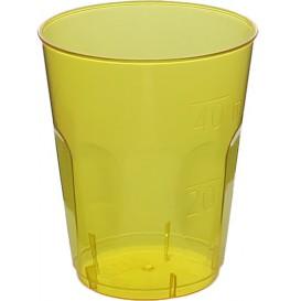 """Vaso Plastico Chupito """"Diamant"""" PS Cristal Amarillo 50ml (600 Uds)"""