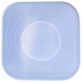 "Bol de Plastico PP ""X-Table"" Cuadrado Violeta 180x180mm (120 Uds)"