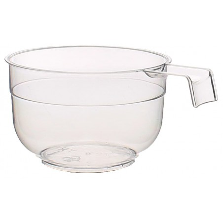 Taza de Plastico PS Transparente 120 ml (50 Uds)