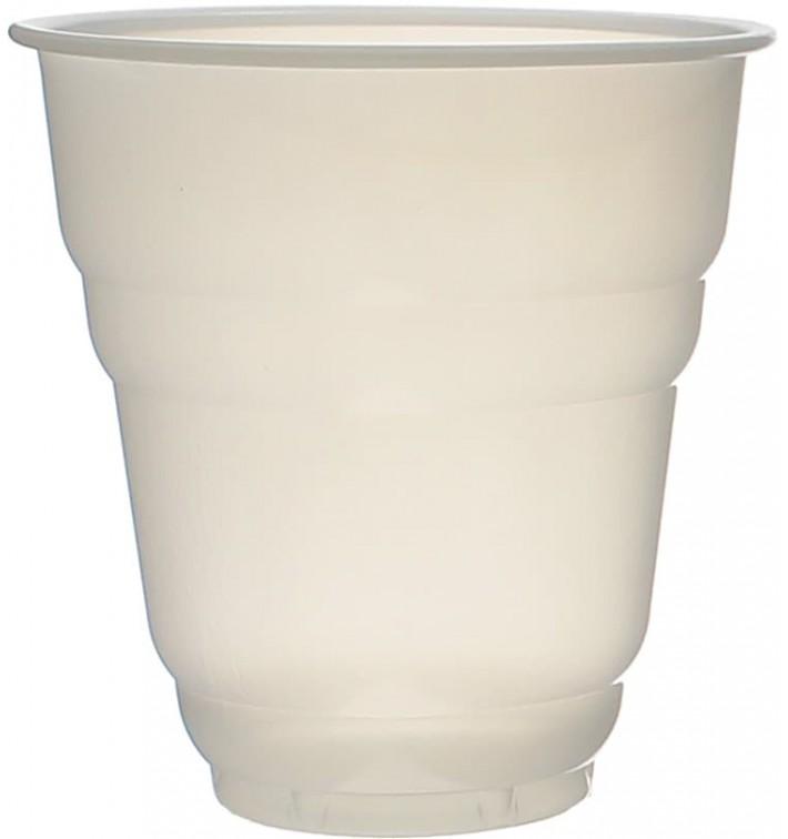 Vaso Plastico Vending Design Blanco Satinado 166ml (100 Uds)