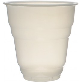 Vaso Plastico Vending Design Blanco Satinado 166ml (3000 Uds)