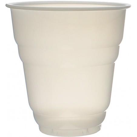 Vaso Plastico Vending Design Blanco Satinado 166ml Ø7,0cm (3000 Uds)
