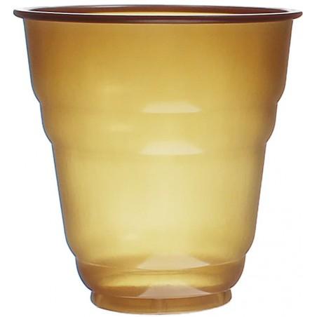 Vaso de Plastico PS Vending Design Marrón 166ml Ø7,0cm (3000 Uds)
