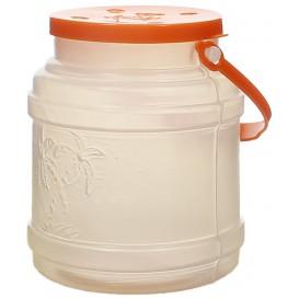 Garrafa Transp. Translúcida con Asa 500 ml (10 Uds)