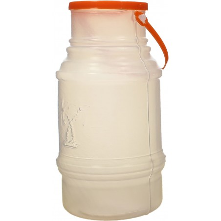 Garrafa Transp. Translúcida con Asa 1000 ml (50 Uds)