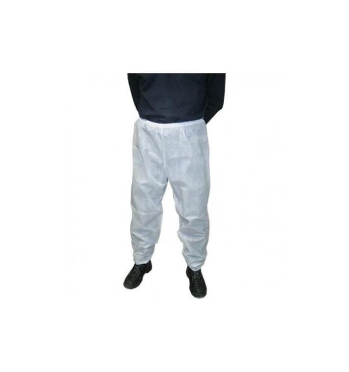 Pantalón TST de PP Industrial Blanco (1 Ud)