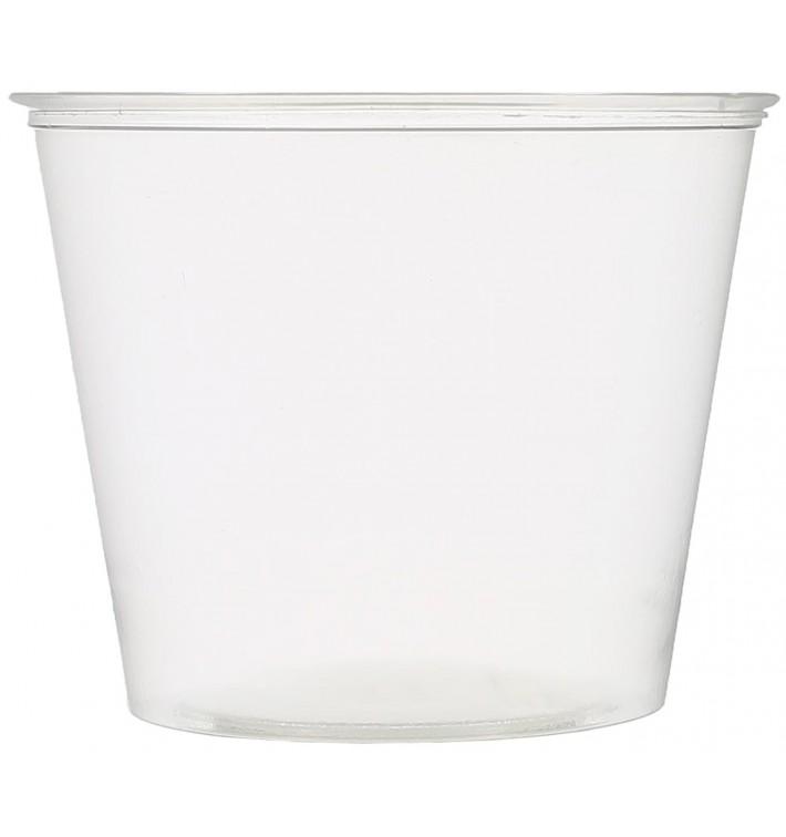 Tarrina de Plastico PET para Salsas 165ml Ø74mm (2500 Uds)