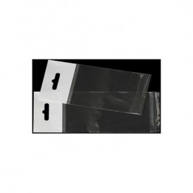 Bolsas POBB Solapa Adhesiva y Eurotaladro 10x15cm G160 (100 Uds)