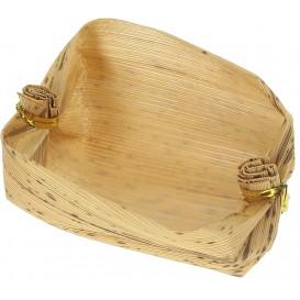 Mini Cesta de Bambou Degustacion 3,8x5,8x3,8cm (25 Uds)