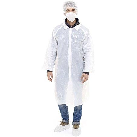 Kit Protección PE 3 Piezas + Mascarilla Blanco (100 Kits)