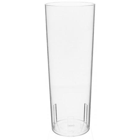Vaso Tubo de Plastico Cristal PS 330 ml (500 Uds)