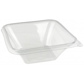 Bol de Plástico PET Impression 750ml 170x170x50mm (50 Uds)