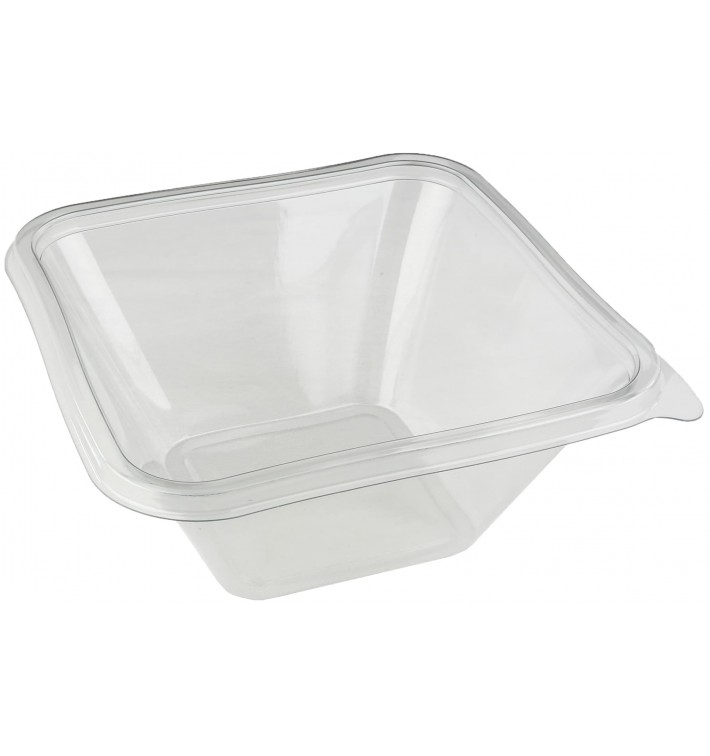 Bol de Plástico PET Impression 1000ml 170x170x80mm (50 Uds)