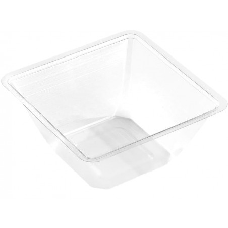 Bol mini de Plástico PET 250ml 90x90x60mm (50 Uds)