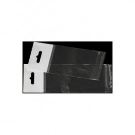 Bolsas POBB Solapa Adhesiva y Eurotaladro 12,5x12,5cm G160 (1000 Uds)
