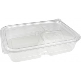 Bol Plástico Inviolable 3C PET 700ml 22x16x4cm (300 Uds)