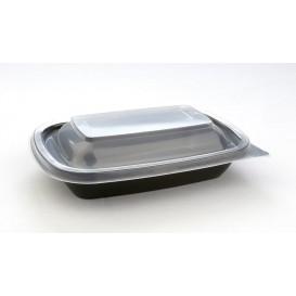 Envase Plastico PP Negro 23x13x4cm 375ml (300 Uds)