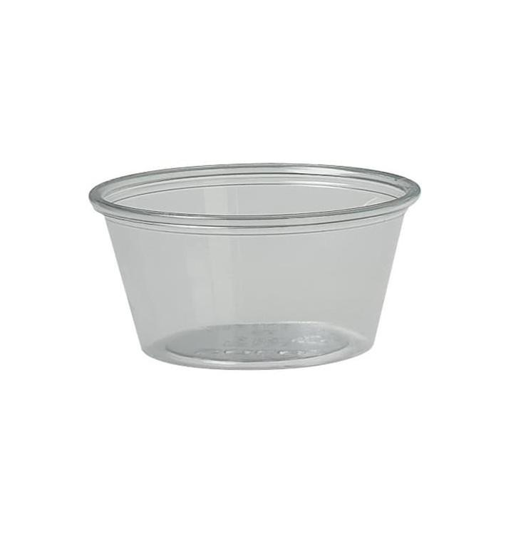 Tarrina de Plástico rPET 2 Oz/59ml (2500 Uds)