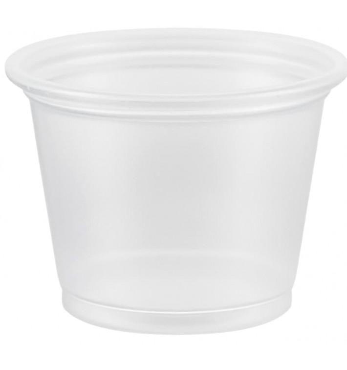 Tarrina de Plastico PP para Salsas 30ml Ø48mm (125 Uds)