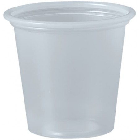Tarrina de Plastico PP para Salsas 35ml Ø48mm (250 Uds)
