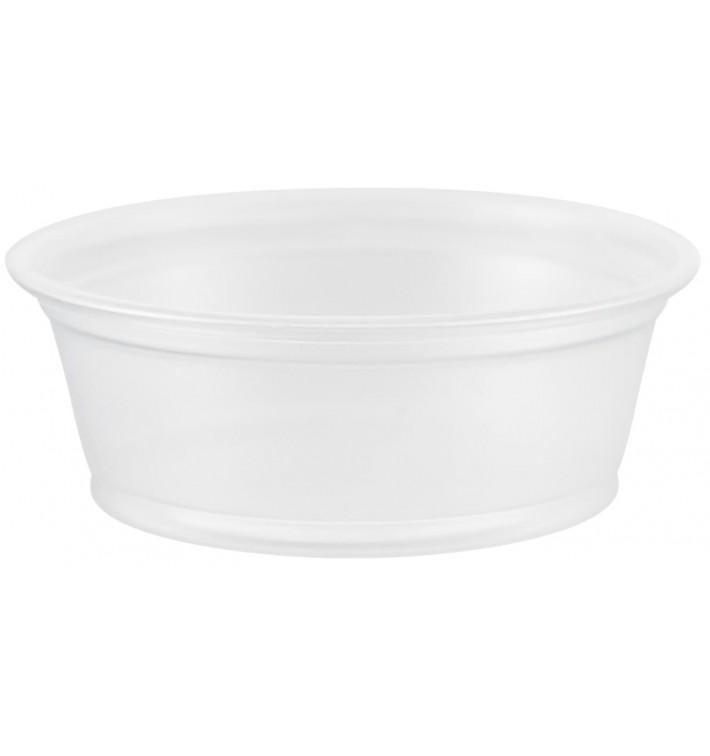Tarrina de Plastico PP para Salsas 45ml Ø66mm (2500 Uds)