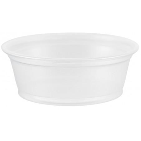 Tarrina de Plastico PP para Salsas 45ml Ø66mm (125 Uds)