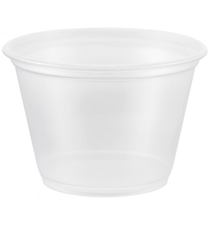Tarrina de Plastico PP para Salsas 75ml Ø66mm (2500 Uds)