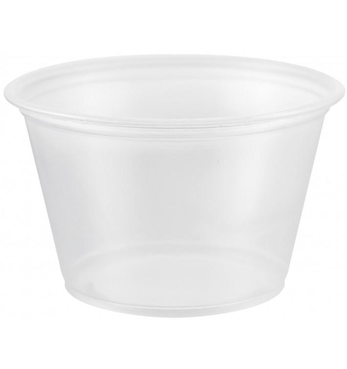 Tarrina de Plastico PP para Salsas 120ml Ø73mm (2500 Uds)