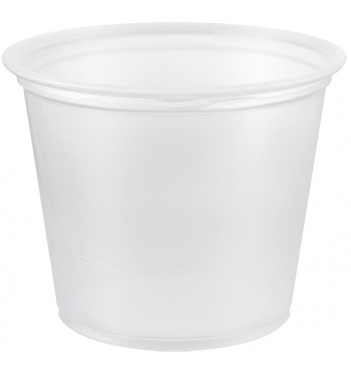 Tarrina de Plastico PP para Salsas 165ml Ø73mm (125 Uds)