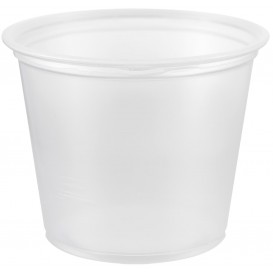 Tarrina de Plastico PP para Salsas 165ml Ø73mm (2500 Uds)
