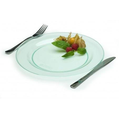 Tenedor de Plastico Metalizado 150mm (50 Uds)