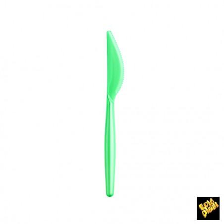 Cuchillo de Plastico Easy PS Tiffany Perlado 185 mm (20 Uds)