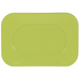 "Bandeja de Plastico PP ""X-Table"" Lima 330x230mm (60 Uds)"