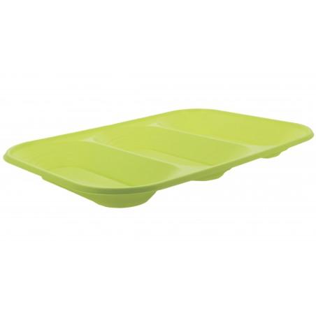 "Bandeja de Plastico PP ""X-Table"" 3C Lima 330x230mm (30 Uds)"