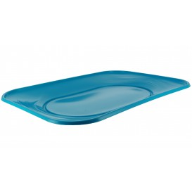 "Bandeja de Plastico PP ""X-Table"" Turquesa 330x230mm (60 Uds)"