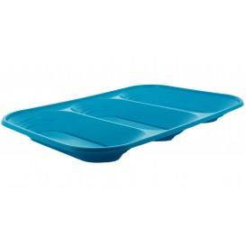 "Bandeja de Plastico PP ""X-Table"" 3C Turquesa 330x230mm (30 Uds)"