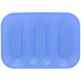 "Bandeja de Plastico PP ""X-Table"" 3C Violeta 330x230mm (2 Uds)"