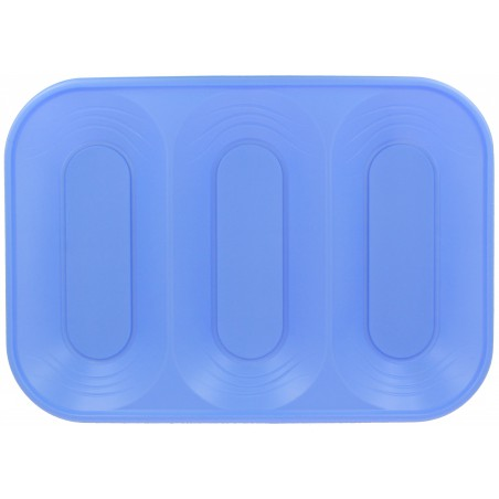 "Bandeja de Plastico PP ""X-Table"" 3C Violeta 330x230mm (30 Uds)"