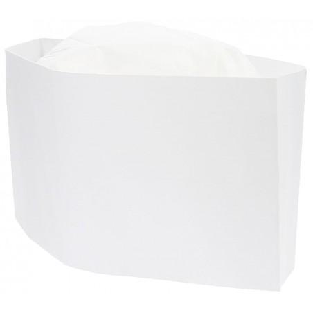 Gorro Cocinero Barco Papel Blanco (100 Uds)