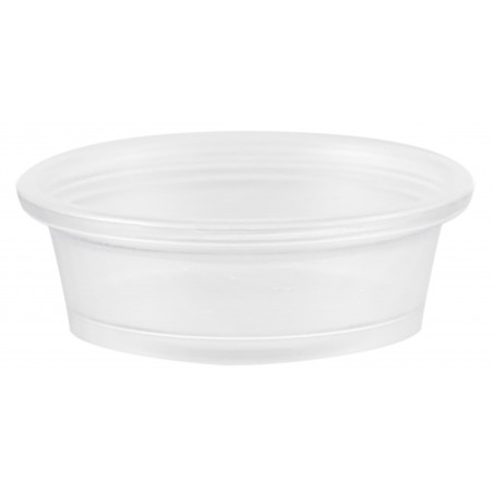 Tarrina de Plastico PP para Salsas 15ml Ø48mm (125 Uds)
