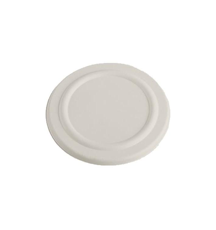 Tapa para Tarrina 450ml Caña de Azúcar Blanca (50 Uds)