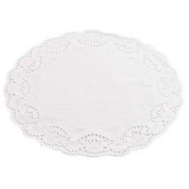 Rodal de Papel Calado Blanco Litos Ø100mm (250 Uds)